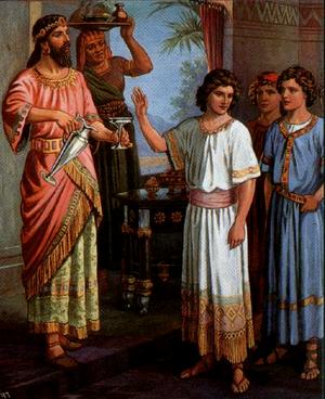Изображение для главы: Даниил и трое его друзей