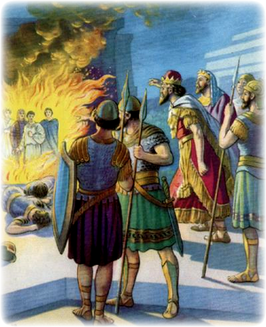 Изображение для главы: Золотой истукан и три смелых мужа
