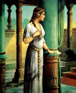 Изображение для главы: Царица Есфирь