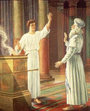 Изображение для главы: Захария и ангел в храме