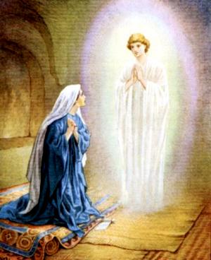 Изображение для главы: Благовещение о рождении Иисуса