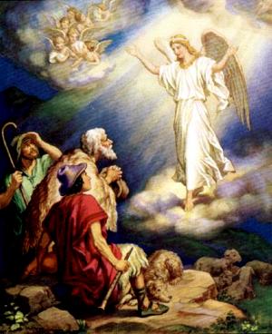 Изображение для главы: Ангелы возвещают пастухам о рождении Иисуса Христа