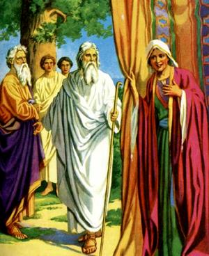 Изображение для главы: Три Божьих вестника у Авраама