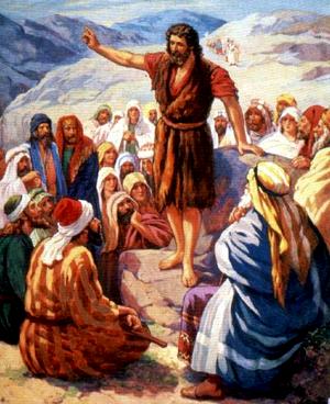 Изображение для главы: Иоанн проповедует и крестит