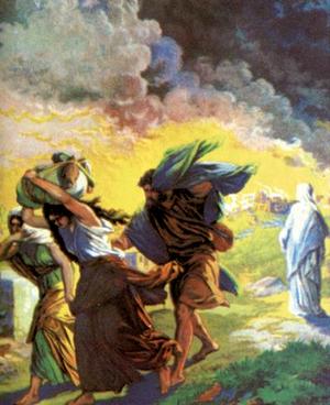 Изображение для главы: Гибель городов Содома и Гоморры