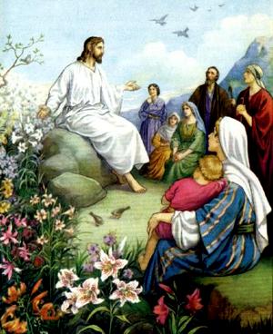 Изображение для главы: Нагорная проповедь. Заповеди блаженства