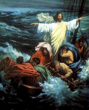 Изображение для главы: Иисус укрощает бурю на озере