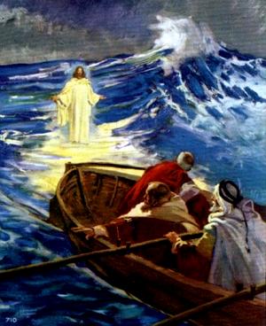 Изображение для главы: Иисус идет но водам