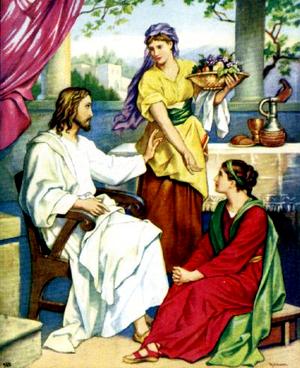Изображение для главы: Сестры Марфа и Мария