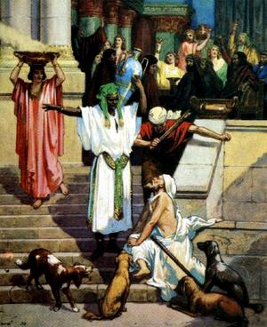 Изображение для главы: Притча о богаче и Лазаре