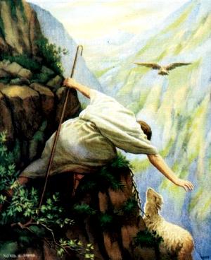 Изображение для главы: Притча о потерянной овце