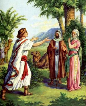 Изображение для главы: Исаак и Ревекка