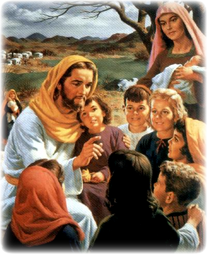 Изображение для главы: Иисус благословляет детей