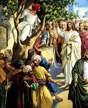 Изображение для главы: Обращение мытаря Закхея