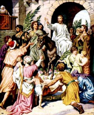 Изображение для главы: Вход Господень в Иерусалим