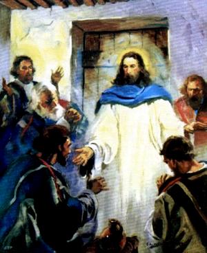 Изображение для главы: Иисус является остальным ученикам
