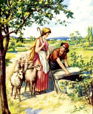 Изображение для главы: Встреча Иакова с Рахилью