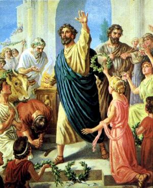 Изображение для главы: Первое миссионерское путешествие Павла — на Кипр и в малую Азию