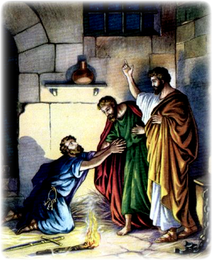 Изображение для главы: Павел и Сила в тюрьме