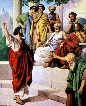 Изображение для главы: Павел в Афинах