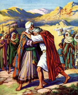Изображение для главы: Примирение Иакова и Исава