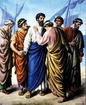 Изображение для главы: Прощание апостола Павла с пресвитерами Ефесской церкви