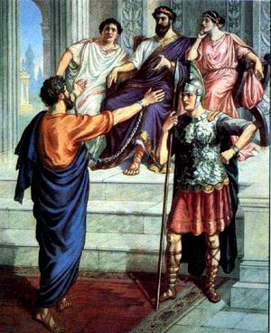 Изображение для главы: Павел перед правителем Фестом
