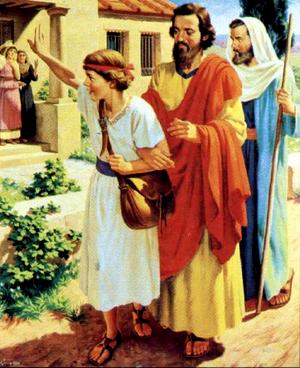 Изображение для главы: Послания апостола Павла. Молодой христианин Тимофей