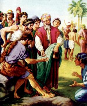 Изображение для главы: Братья продают Иосифа