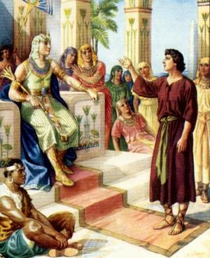 Изображение для главы: Иосиф толкует сны фараону