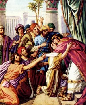 Изображение для главы: Иосиф открывается братьям