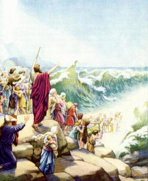 Изображение для главы: Переход Израильтян через Чермное море