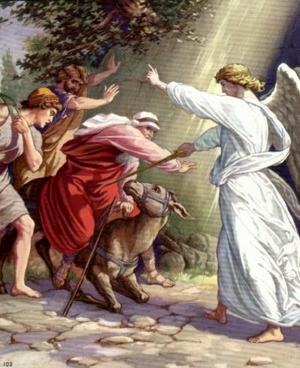 Изображение для главы: Пророк Валаам и ангел