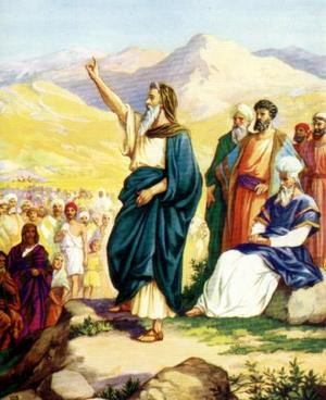 Изображение для главы: Иисус Навин – преемник Моисея