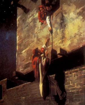 Изображение для главы: Раав спасает лазутчиков