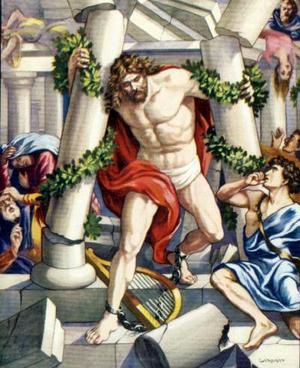 Из библии сила в волосах