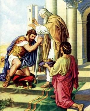 Изображение для главы: Давид воцаряется над всем Израилем