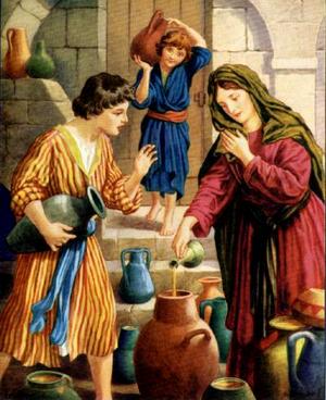 Изображение для главы: Чудо с водой и чудо с маслом