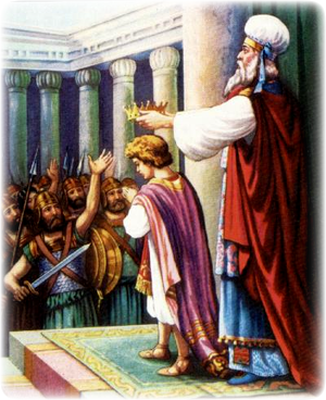Изображение для главы: Коронование Иоаса