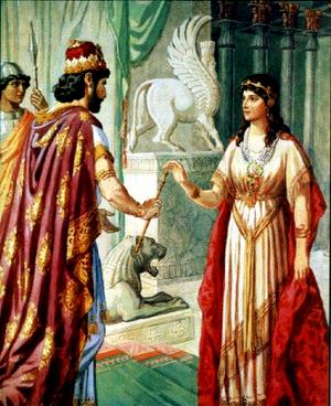 Царица Есфирь. Продолжение