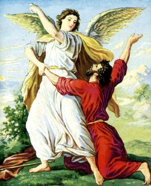 Иаков «борется» с Богом