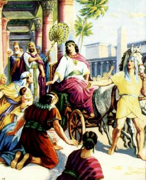 Иосиф – управитель всего Египта
