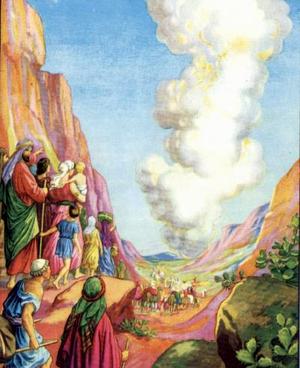 Господь выводит Израильтян из Египта