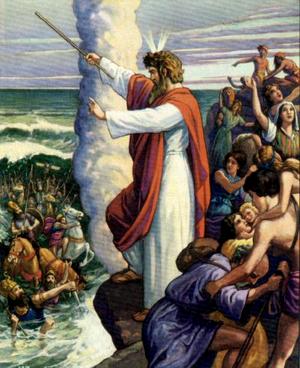 Гибель Египетского войска в Чермном море