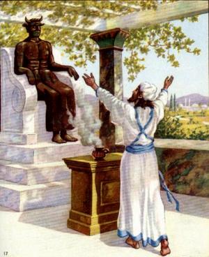 Соломон отпадает от Бога