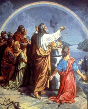 Радуга и завет Бога с человеком
