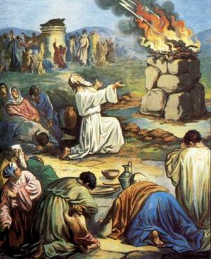 Илия и пророки Ваала